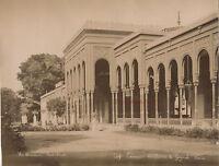 Egitto Port Said Foto Arnoux Albumina Vintage Albume D'Uovo Ca 1875