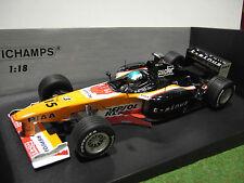 F1  ARROWS A20 TAKAGI # 15 1/18 MINICHAMPS 180990015 voiture miniature formule 1