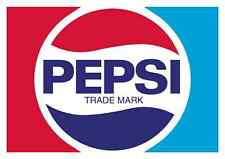 "Pepsi Cola Vintage Vinyl Sticker Decal 6""  (full color)"