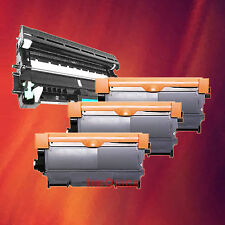 Toner Cartridge TN-450 & Drum DR-420 for Brother 4 Pack