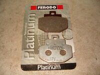 Ferodo Rear Brake Pads for Benelli, Gilera and Piaggio Motorcycles & Scooters