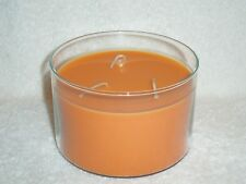 Partylite Pumpkin Apple Cider 3-wick Bowl Candle -- RETIRED