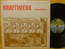 KRAFTWERK RALF & FLORIAN LP Flourescent Gold Embossed Sleeve UK 1973 Vertigo NM