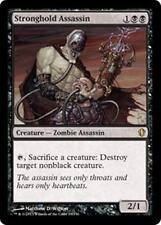 STRONGHOLD ASSASSIN Commander 2013 MTG Black Creature — Zombie Assassin RARE
