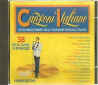 HO IL CUORE IN PARADISO Le più belle canzoni della tradizione CD Audio Musicale