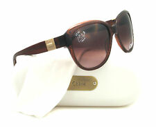 NEW Chloe Women's Sunglasses CL 2233 Brown CO2 CL2233 58mm