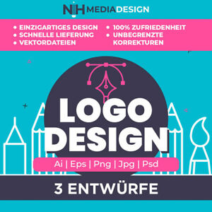 Logo Design, Professional Logo Design, Logoerstellung, Vektorlogo