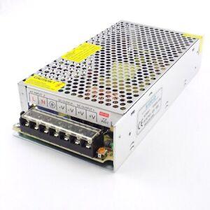 Lighting Transformer AC100V-265V to DC 12V 10A CCTV Camera Power Supply Adapter