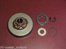 "NEW OEM STIHL Chainsaw 3/8"" Rim Drum Sprocket Kit 038 MS 380 381 (Read Desc.)"