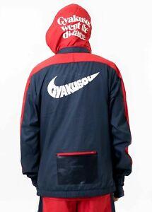 Nike x Gyakusou ½-Zip Hooded Jacket Runner Rose Blue Red CD7107 447