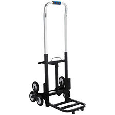 Portable Stair Climbing Folding Cart Climb Up To 420lb Carbon Steel  Brand New