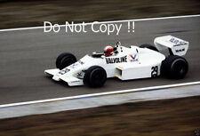 Marc Surer Arrows A6 Dutch Grand Prix 1983 Photograph 2