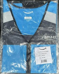 New Amazon DSP Flex Delivery Driver Safety Vest - Reflective Size 2XL/3XL