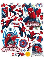 Décorations autocollants stickers fenêtres Spiderman