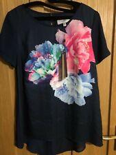Coast Nila Floral print Top size 10