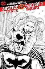 JUSTICE LEAGUE vs SUICIDE SQUAD 1 AOD ASHLEY WITTER SKETCH VARIANT HARLEY QUINN