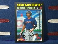 2020 Topps Heritage Minor League #16 Gilberto Jimenez - Lowell Spinners