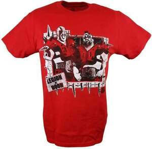 The Road Warriors Legion of Doom WWE Legends Mens Red T-shirt