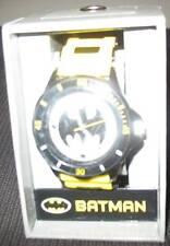 BATMAN - WATCH WITH GIFT BOX - RUBBER STRAP - Dark Knight -NEW LICENSED