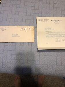 1951 Richard Nixon Signed Letter & Envelope United States senate