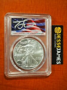2021 (P) SILVER EAGLE PCGS MS70 CLEVELAND EMERGENCY ISSUE STRUCK AT PHILADELPHIA