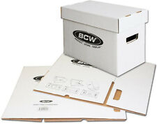 (1) BCW BX-SHORT Comic Book Cardboard Storage Boxes Cases Holds 150-175 NEW