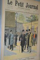 Le petit journal supplément illustré /  5 juin 1898 / Rentrée chambre  députés
