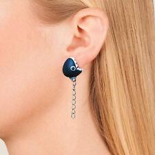 Novelty 3D Animal Chomp Earrings Cute Popular Piranha Polymer Clay Stud Earrings