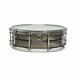 Ludwig LW5514CDIR 5.5x14inch Black Magic Snare w Chrome Hardware and 2.3mm Hoops
