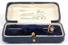 Gold Diamond Pin Brooch Arts and Crafts Quality Diamond Circa 1890