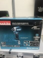 "Makita Brushless 18V XDT13Z Cordless 1/4"" Impact Driver TOOL ONLY"