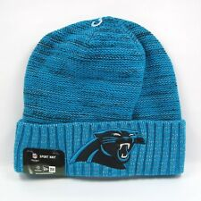 New Era NFL Para Hombre Camiseta de Jersey Carolina Panthers Nº color Knit Beanie Sombrero de Rush-Talla