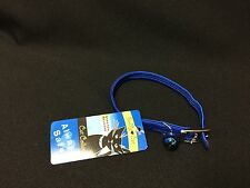 """NWT Buddy Cat Stretch Release 11.25"""" Nylon Blue Cat Collar with a Blue Bell!"""