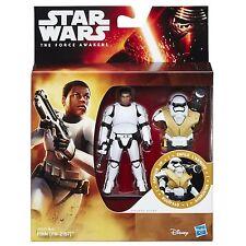 Star Wars The Force Awakens 3.75-Inch Figure Desert Mission Armor FINN (FN-2187)