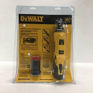 DeWalt MAX Cordless Screwdriver 8-Volt 1/4in Hex 1 Battery/Charger DCF682N1