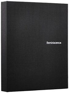 Hard Cover 8 Films Photo Album Black for Fuji Instax Mini Japan Brand New
