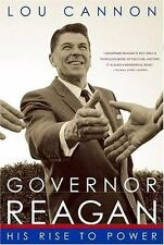 Governor Reagan: His Rise To Power - Cannon, Lou - Paperback