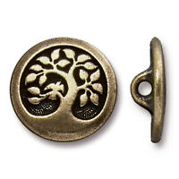 TierraCast Pewter Charm Shell... Pick your style Goddess Heart Sand Dollar