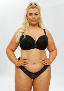 Ann Summers The Entity Fuller Support Bra - Black - Sizes 32DD - 40G