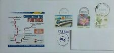 Opening of LRT Extension Project Private Commemorative Cover FDC Malaysia 2016