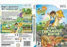 NINTENDO   Wii   GROTE DINOSAURUS AVONTUUR (y825) SPEL EN HANDLEIDING NEDERLANDS