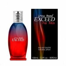 NEW BRAND EXCEED EAU DE TOILLETE 100 ML FRAGRANCE FOR MEN FRAGRANCE FOR HIM