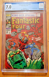 FANTASTIC FOUR ANNUAL #6 1st ANNIHILUS Franklin Richards 1968 *CGC 7.0 OW TO WP*
