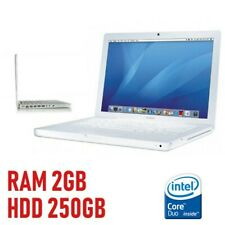 PC APPLE MACBOOK 2006 A1181 CORE DUO 2GB HDD 250GB NOTEBOOK LAPTOP COMPUTER-