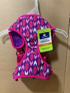 Top Paw Comfort Dog Harness Adjustable MEDIUM Pink & Purple! NEW!!