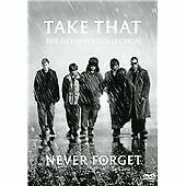 TAKE THAT NEVER FORGET THE ULTIMATE COLLECTION GENUINE R2 DVD NEW/SEALED