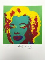 Andy Warhol | Marilyn. Signed & Numbered Lithograph