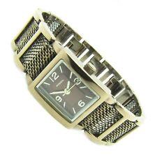 Fossil F2 Damen Armband Uhr Edelstahl braun Kristall ES-1720 5ATM Bat neu N240