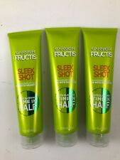 (3) GARNIER FRUCTIS SLEEK SHOT IN SHOWER STYLER HAIR CARE MIX 5.1 OZ New