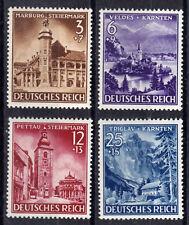 Deutsches Reich 806/9 ** Eingliederung von Steiermark, Kärnten und Krain